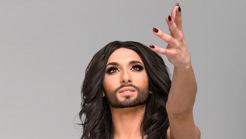 Eurovison Song Contest Winner 2014 - die österreichische Dragqueen Conchita Wurst.